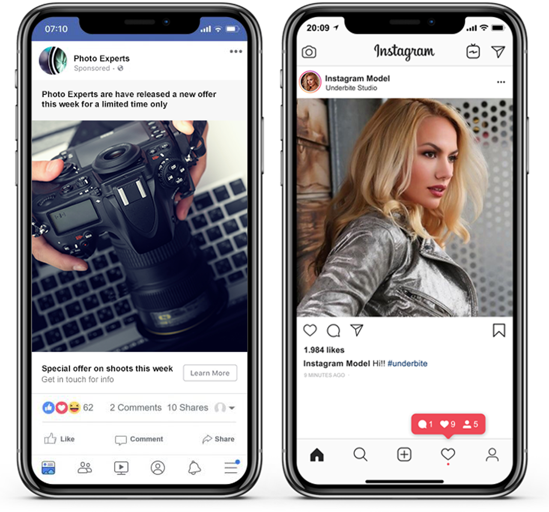 social media marketing services from underbite studio worcester